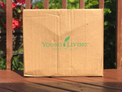 Monthly subscription box from Young Living Essential Rewards